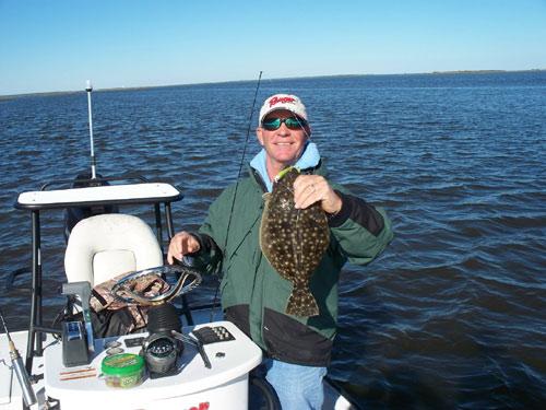 Seahawk inshore fishing report 1 19 10 good redfishing for Carolina beach fishing charters