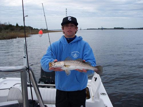 Seahawk inshore fishing report 12 18 08 nc inshore for Nc fishing charters