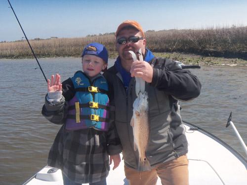 Seahawk inshore fishing report 3 15 11 carolina beach for Carolina beach fishing charters