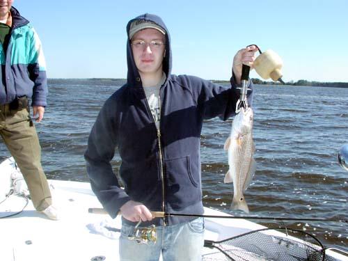 Seahawk inshore fishing report 3 23 08 carolina beach for Carolina beach fishing charters