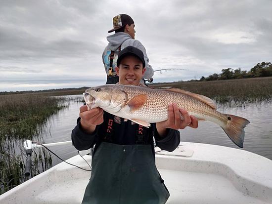 Seahawk inshore fishing report 05 04 2015 spring fishing for Carolina beach fishing charters