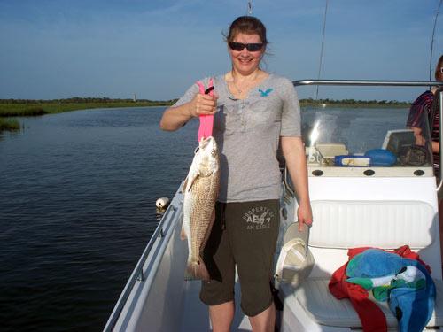 Seahawk inshore fishing report 6 5 10 carolina beach for Carolina beach fishing charters