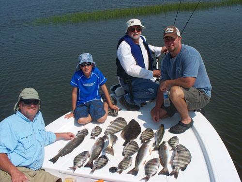 Seahawk inshore fishing report 7 6 09 carolina beach for Carolina beach fishing charters