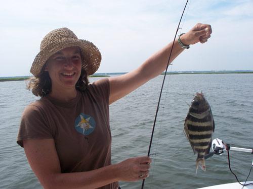 Seahawk inshore fishing report 8 10 09 carolina beach for Carolina beach fishing charters
